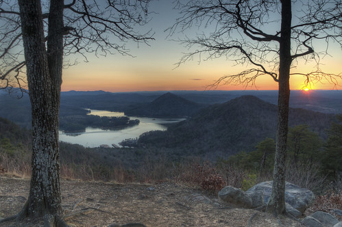 chris winter sunset sun mountain lake 3 photography photo high nikon soft day kaskel tn dynamic d tennessee january picture pic lookout end pro 5000 overlook eastern range ocoee hdr parksville chilhowee benton exp matix photomatix 3exp d5000