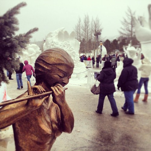 The Breckenridge International Snow Sculpture Competition was fun to see this year! | by elysianstudiosart