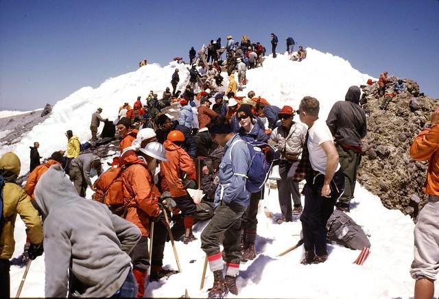 Mazama Climbing Club - Mt. Hood 1969 Illumination - Kodachrome Slide