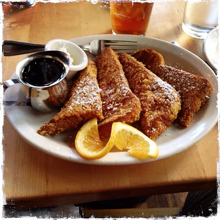 Cornflake encrusted French toast at Mothers Bar in PDX with @trenthead and @duncan | by BWJones