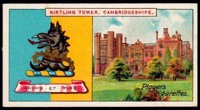 Cigarette Card - Kirtling Tower