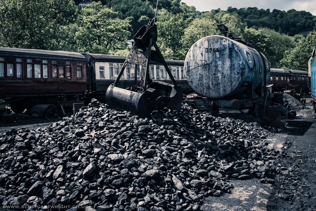 Train Yard HDR