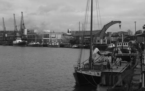 Along the harbourside