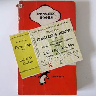 Forgotten bookmark in an old Penguin