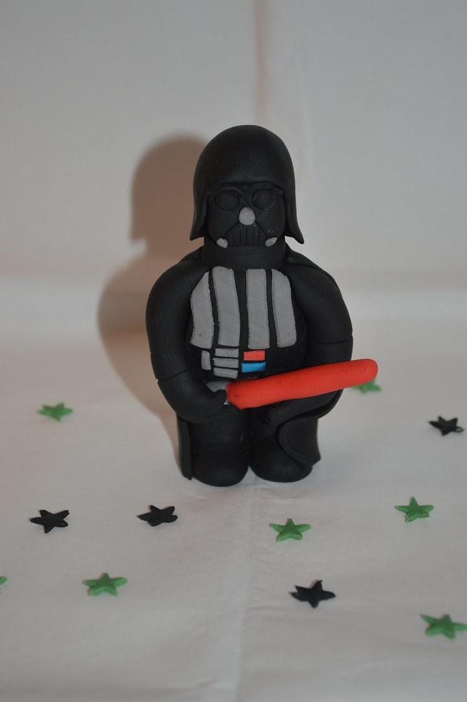 Darth Vader Star Wars Cake Topper Figure Decoration Flickr