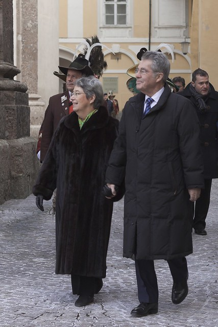 Herr Bundespräsident Dr. Heinz Fischer und Gattin