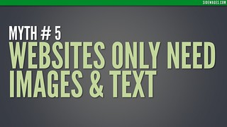 Myth 05: Splash Slide - Top 10 Myths Business Website - Sidewages | by SideWages