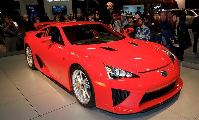 2013 Washington Auto Show - Lower Concourse - Lexus 16