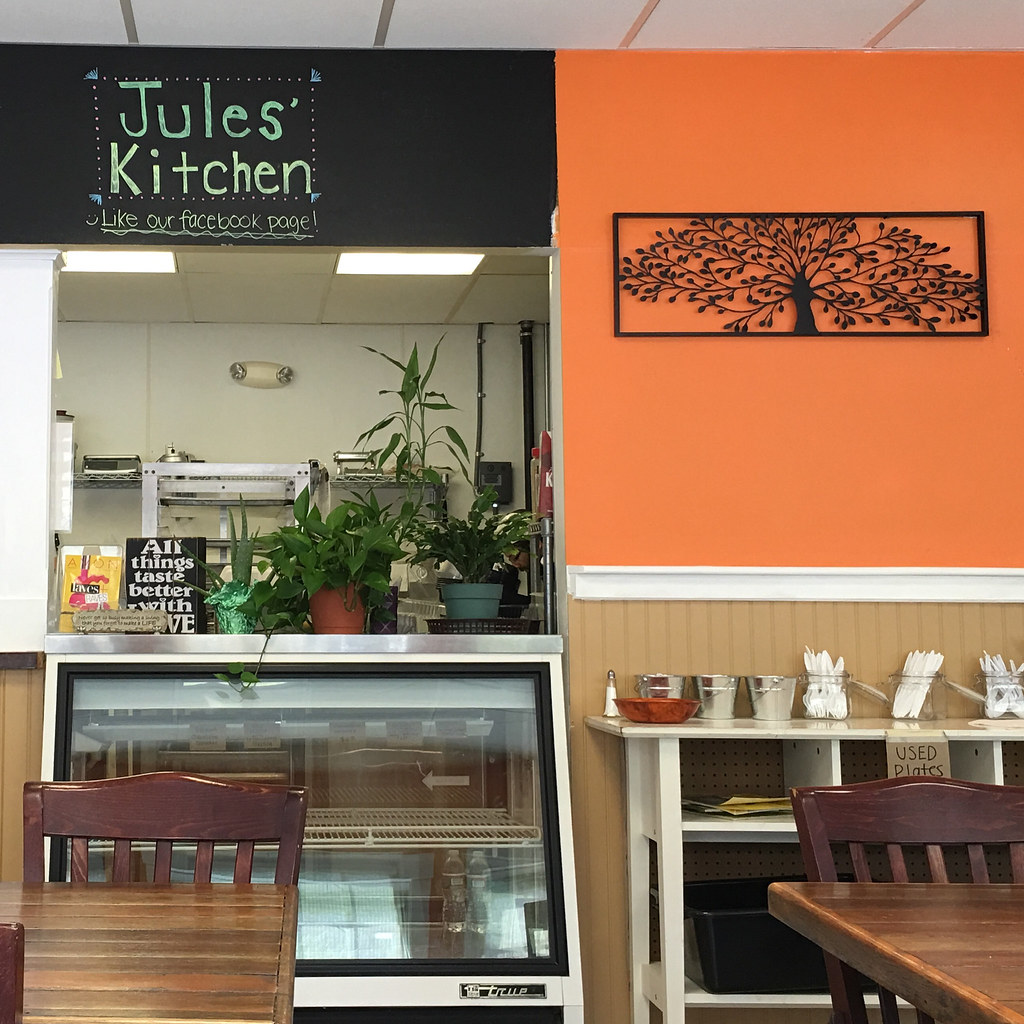 Jules Kitchen Great Sandwiches Including Vegetarian Opti