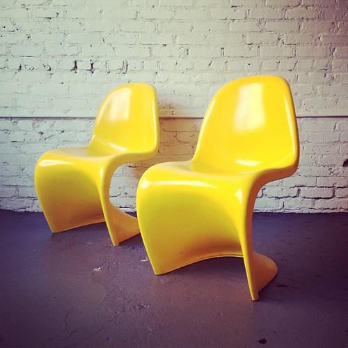 Verner Panton chairs $325