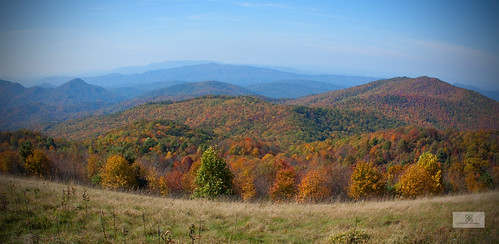 autumn mountain mountains fall outdoors nc tn hiking tennessee exploring border bald northcarolina hike 2012 maxpatch