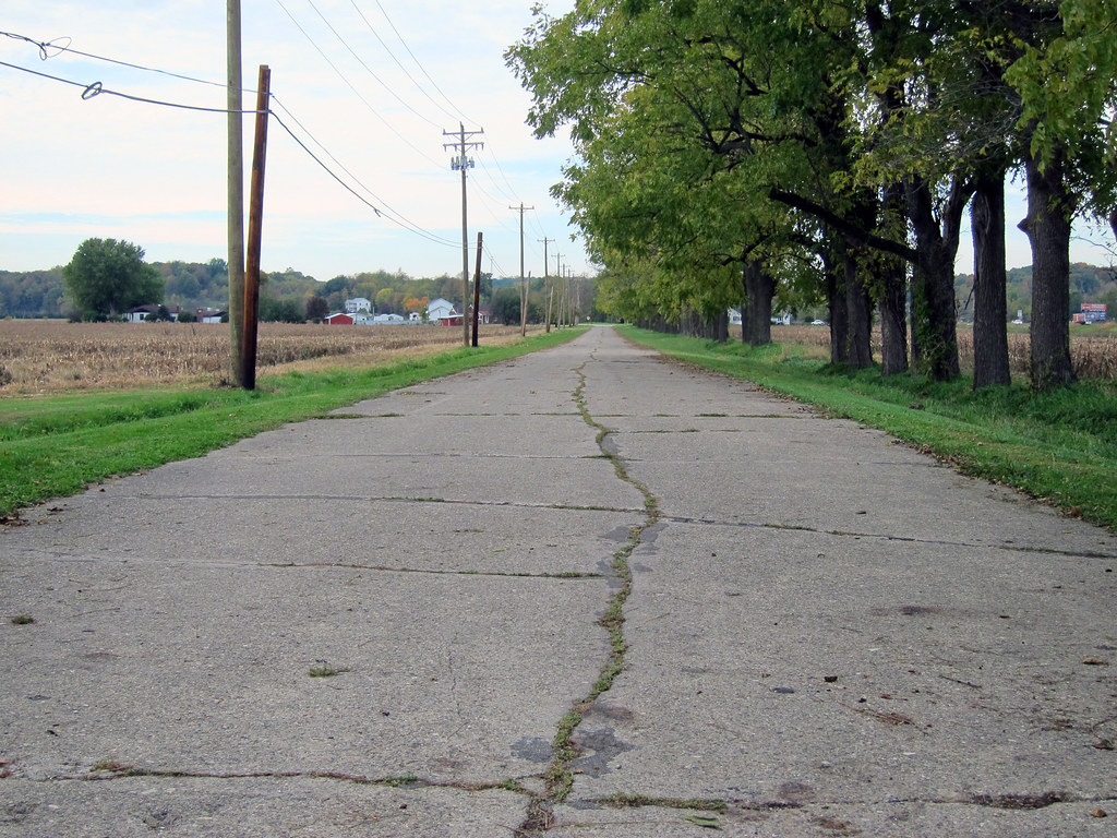 Concrete road