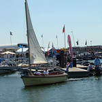 Sailing sloop Zijlsloep at the National Sloop Show, Bataviahaven Lelystad, 2010. Photograph provided by www.boten.nl