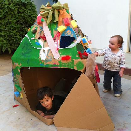 2db775a4ecf8 ... Παιδικό Οικολογικό Σπιτάκι από Χαρτόνι