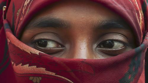 MY ROAD : Student in Dhaka street