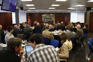 Aquest esmorzar col·loqui forma part de les Trobades PIMEC 2012 amb els candidats dels partits polítics a les eleccions al Parlament de Catalunya.