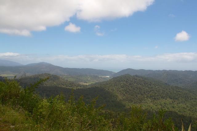Views across the Karamea Bluffs