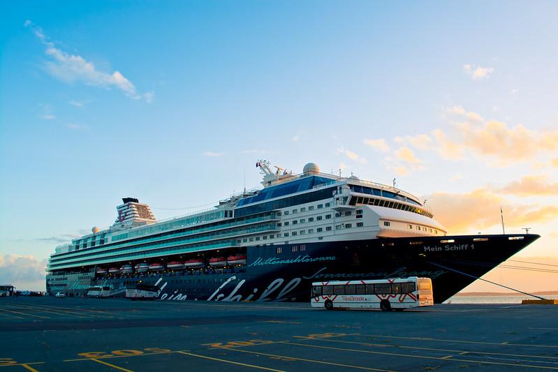Accostage Mein Schiff 1 - Bordeaux Le Verdon -  17 septembre 2016