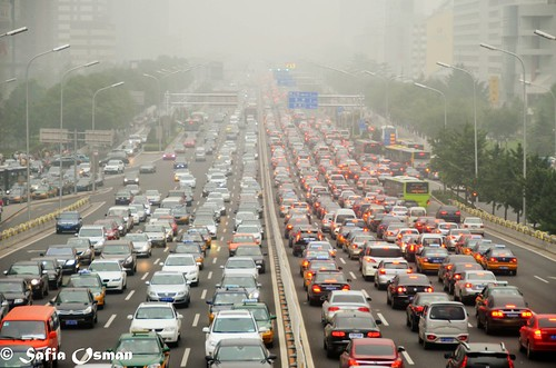 Beijing traffic | by Saf'