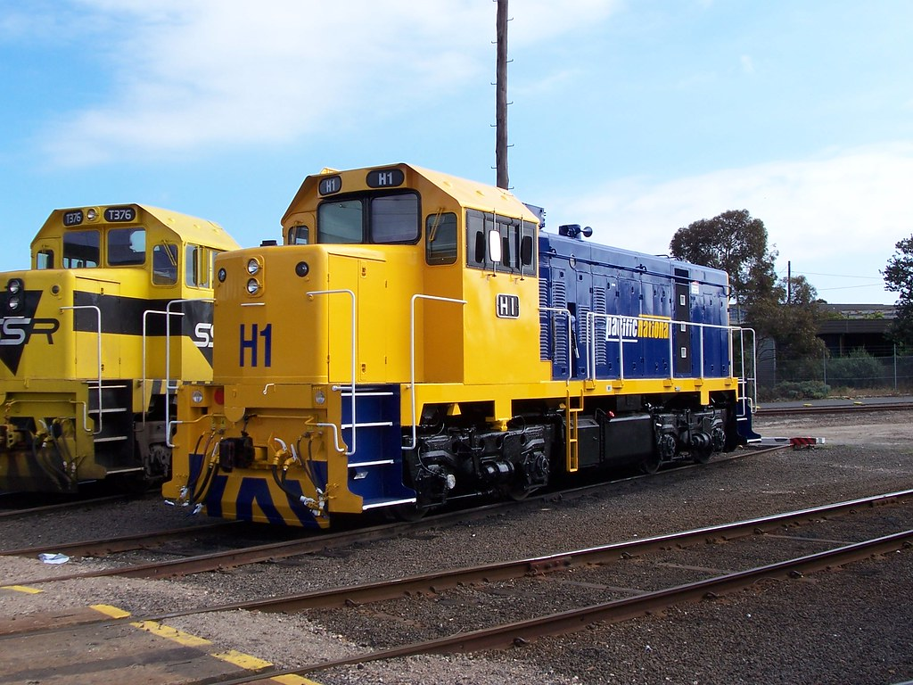H1 at Dynon by Alan Greenhill