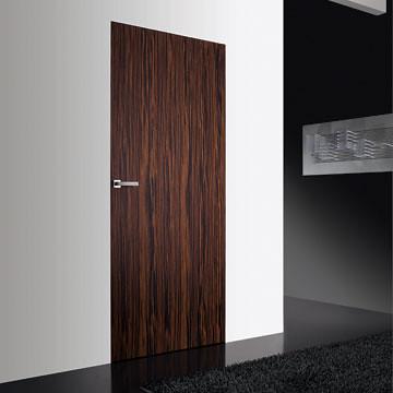 Wing door in New Wood colour Ebano finishing. | by albertopavanello