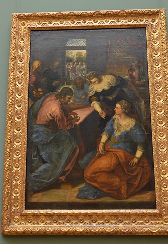 Christ with Mary and Martha, Tintoretto, 1654-55 (2) | by Prof. Mortel