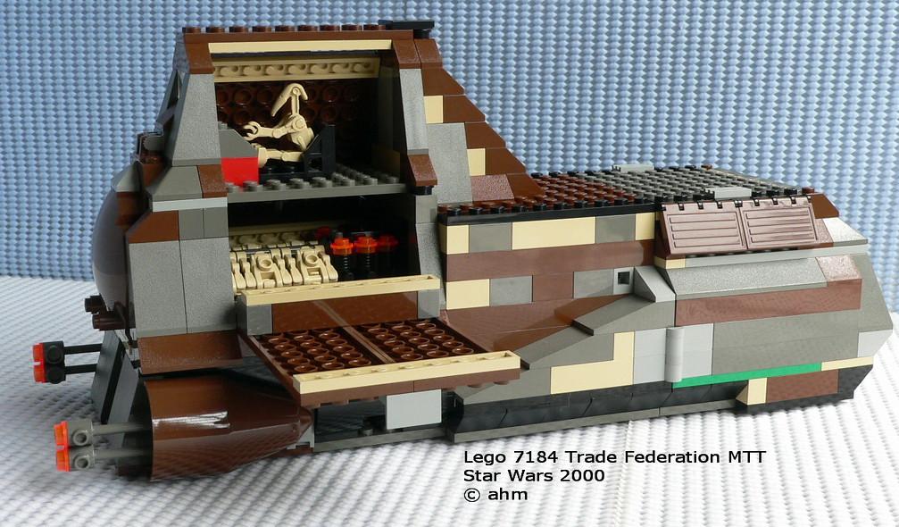 Star Wars Lego 7184 Trade Federation MTT | Star Wars Lego 71