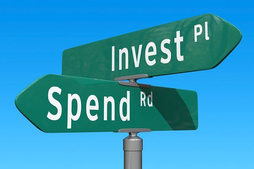 Crossroads: Invest or Spend | by ccPixs.com