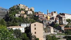 Вид на город Corte