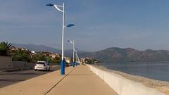 Дикий пляж у въезда в Saint Florent