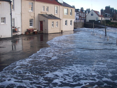 Storm Surge and St Baldred damage 15th Dec 2012