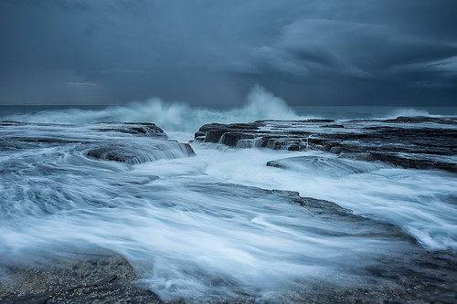 nsw seascape landscape sydney rockshelf rockpool northernbeaches northnarrabeen longexposure leefilters