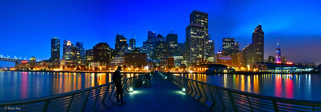 [Pier 14 During the Blue Hour]