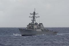 USS Curtis Wilbur (DDG 54) file photo. (U.S. Navy/MC2 Kevin V. Cunningham)