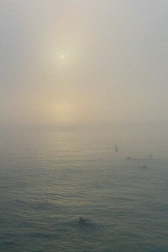 Fog at Huntington Beach | by Chris Jepsen