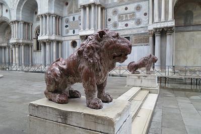 Red Granite Lions