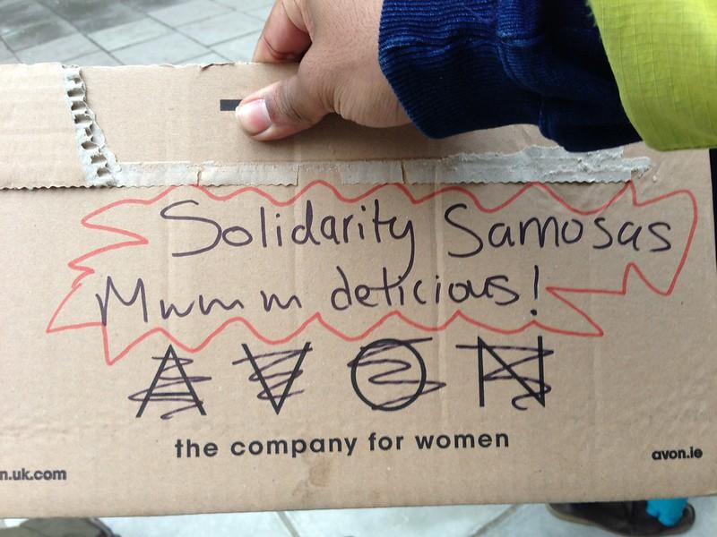 Solidarity Samosas!