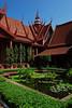 Phnom Penh, Národní muzeum, foto: Andrea Filičková
