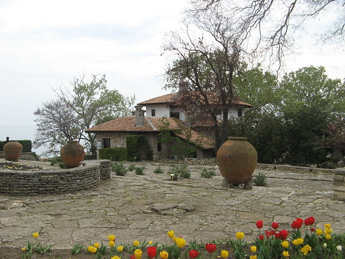 Villa seen from the garden in Balchik, Bulgaria | by Laura713