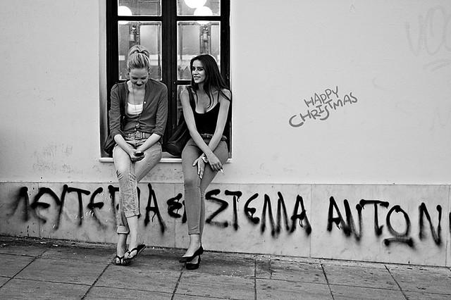 Smiles on the street