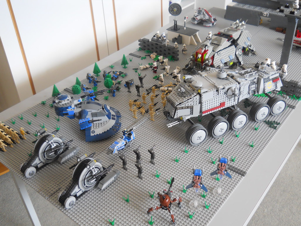 Lego Star Wars Clone Base Battle Moc Here Is A New Moc I H Flickr
