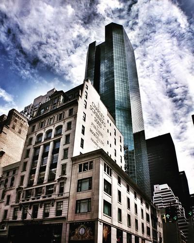 NY buildings  #Newyork #nyc #newyorkcity #manhattan #Photo #Photography #Travel #travelgram #trip #iloveny #ilovenyc #newyorkphoto #instacool #instanewyork #mynyc #bigapple #Architecture #archilovers #thebigapple #building #colorful #igers #newyorknewyork | by Mario De Carli