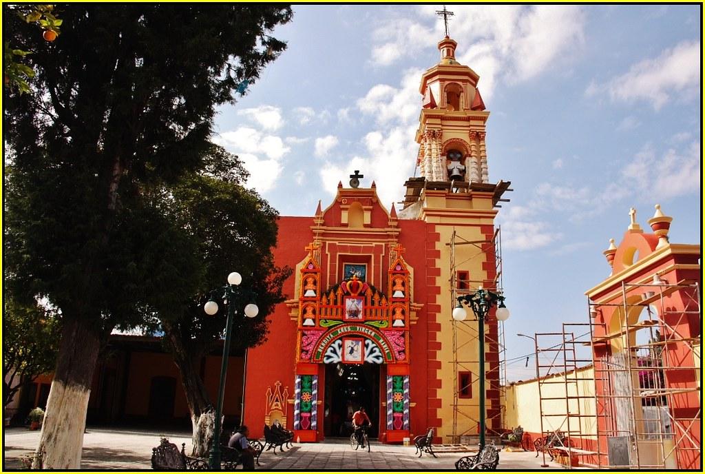 Fachada del Templo de Santiago Xicotenco