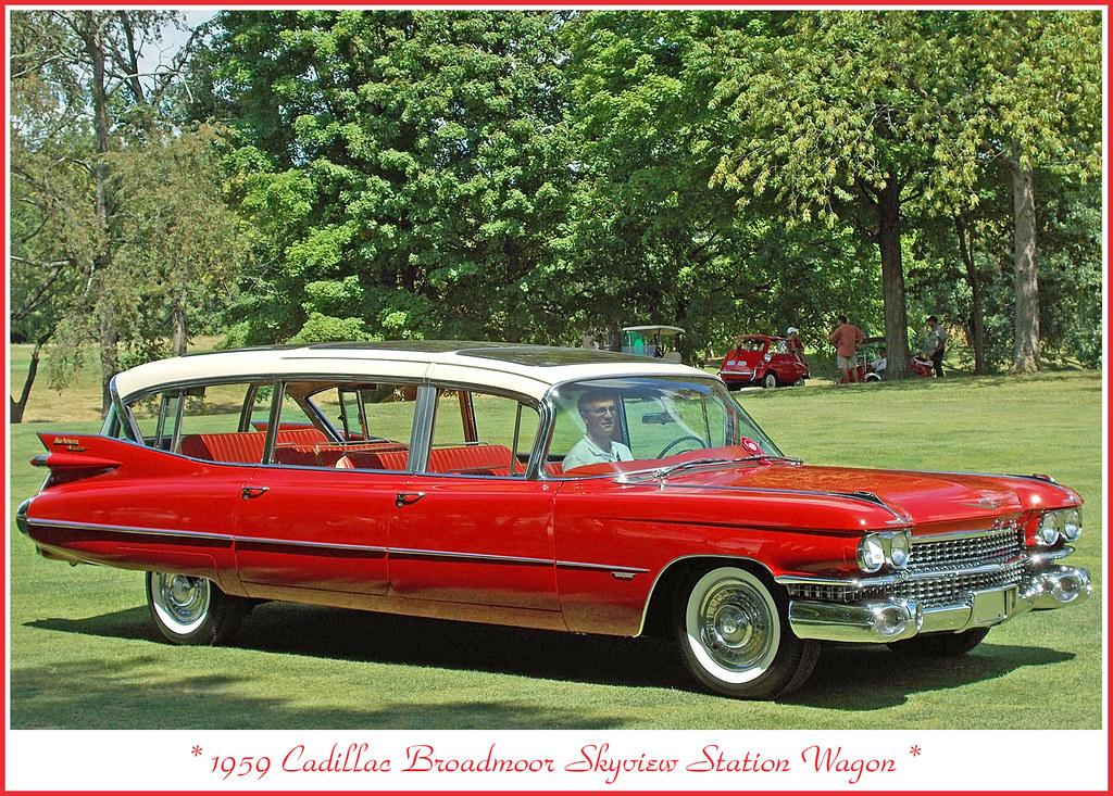 1959 Cadillac Broadmoor Skyview Station Wagon | The July 29
