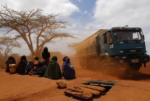 Women and Children waiting for the water truck-Melbana Village-Borena Zone-Oromia Region | by UNICEF Ethiopia