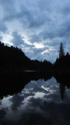 november blue autumn trees sky black reflection fall water clouds canon evening washington northwest waterscape chainlakes inlandnorthwest marilynhassler omadarlingphotography