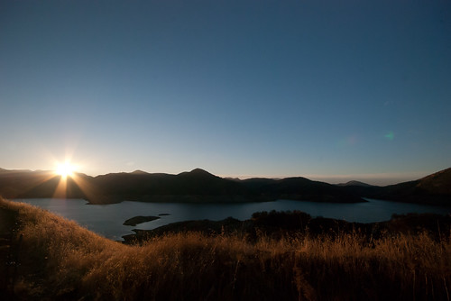california lake sunrise day volunteer alltrips