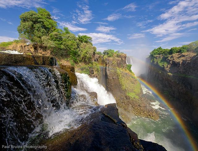 Victoria Falls Cascades
