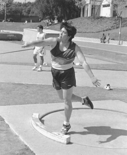 Kiyomi Parish '97 competed in the Olympic Trials in June 1996 in the hammer throw. Parish won three NCAA Division III national titles in the hammer throw.