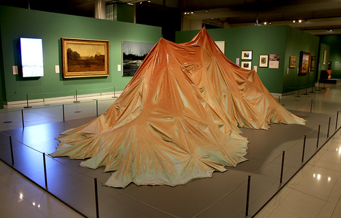 Force of Nature, featuring Land (1990) by Kathy Prendergast. Photo © Museums Sheffield | by Museums Sheffield